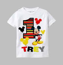 mickey mouse 1st birthday shirt 1st birthday mickey mouse shirt best 25 mickey mouse birthday
