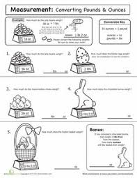 inches feet and yards measuring worksheet math pinterest