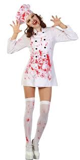 Chef Costume Bloody Chef Costume Ac483 Fancy Dress Ball