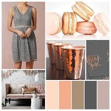 pretty palette beautiful blushing copper aluminum bridal
