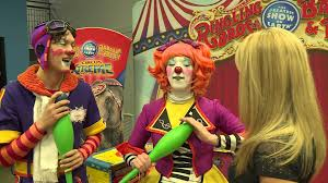 Barnes And Bailey Circus Clown With The Ringling Bros And Barnum U0026 Bailey Circus