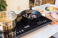 2 Burner Cooktop Electric 1800w Portable Electric Double Burner Countertop Kitchen Rv Home