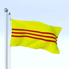 Viet Nam Flag Animated South Vietnam Flag By Dragosburian 3docean