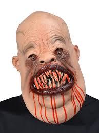 faceless mask halloween cannibal psychopath mask