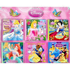disney princess mini books pack of 6