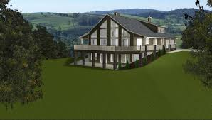 basement home plans rustic luxury house plans steep hillside mountain home modern with