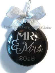 personalized wedding christmas ornaments personalized wedding ornament wedding christmas ornament gift