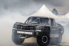 ford baja truck bj baldwin trades in his silverado trophy truck for a tundra