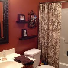 Storage Bathroom Ideas Colors Best 25 Orange Bathroom Decor Ideas On Pinterest Burnt Orange