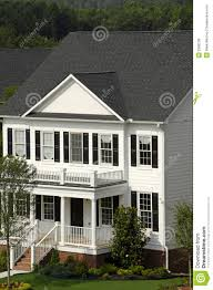 white two story house royalty free stock images image 2980239