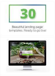 wp landing pages pro 30 landing page templates included by