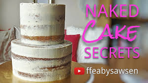 secrets to making a perfect semi cake fancy favours
