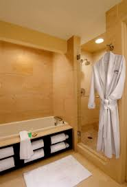bathroom bathroom with wooden laminated wall floor with