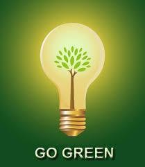 design logo go green potcheen going green