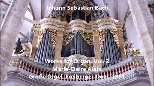 js bach works for organ vol 2 alain große orgel