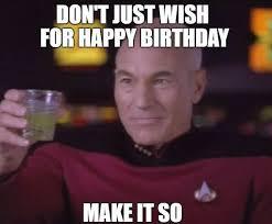 Happy Birthday Star Trek Meme - star trek happy birthday meme hottest girls