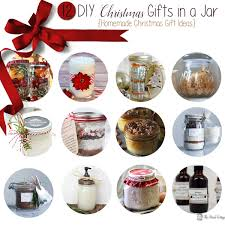 Homemade Xmas Gifts by Diy Christmas Gifts In A Jar Homemade Christmas Gifts The