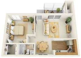 bedroom plan 20 one bedroom apartment plans for singles and couples home