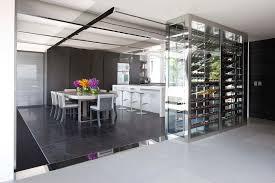 cuisine avec bar pour manger plan de cuisine ouverte sur salle manger living room contemporary