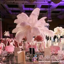 Ostrich Feather Centerpieces Wholesale by Snow White Wedding Decorations Ostrich Plumes Ostrich Feather For