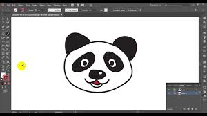 how to draw a cute panda cartoon and paint color for kids วาดร ป