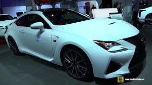 lexus new rc f 2015 lexus rc f exterior and interior walkaround 2014 la auto