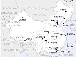map of china and cities china map detailed reference maps of china