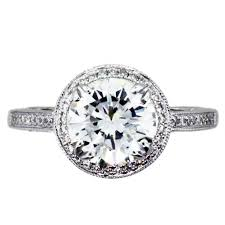 round setting rings images 2 carat round diamond halo setting engagement ring boca raton jpg