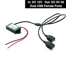 Htc Wildfire Car Mode Problem by Amazon Com Car Auto Dc 12v To 5v 3a 15w Hard Wired Step Down