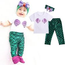 Mermaid Halloween Costume Toddler Compare Prices Mermaid Baby Clothes Shopping Buy