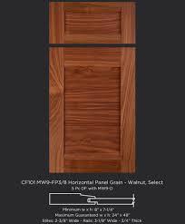 Cabinet Door Company Cf101 Mw9 Fp38 Walnut Horizontal Grain Mw9 D Taylorcraft Cabinet