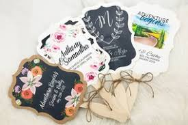 fans for wedding programs wedding program fans personalized foil and color