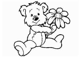 cartoon animals coloring pages of flowers coloring pages for all