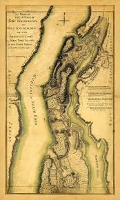Washington New York Map by Map Of New York 1776 Long Island Brooklyn New Jersey Staten