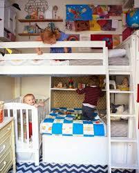 chambre pour 2 enfants chambre partagée par 3 ou 4 enfants idées d aménagement originales