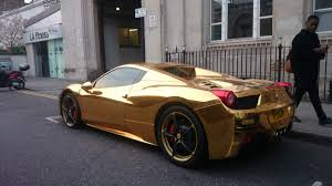 ferrari gold gold maximum bhp