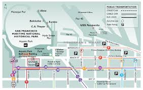 cable car san francisco map maritime park association directions and hours to visit