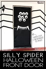 32 spider classroom door decoration ideas halloween door