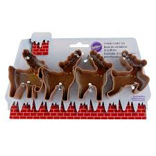 14 best cookie cutters santa u0026 reindeer images on pinterest