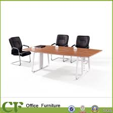 modern office conference table china office furniture steel leg conference table modern office