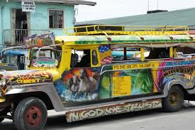 philippine jeepney inside jeepney ride bulusanruralvagabond