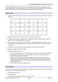Experimental Probability Worksheet Ks3 Experimental Probability Teachit Maths