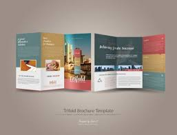 tri fold brochure ai template 26 trifold brochure template boxes on inside right could be an