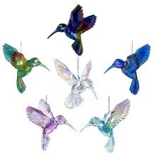 acrylic hummingbird ornament robert co town