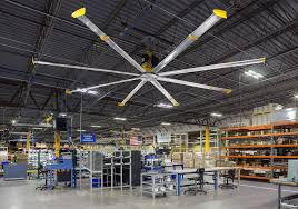 Led Warehouse Lighting Large Ceiling Fans Floor U0026 Wall Mount Fans And Led Lights From