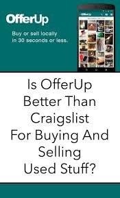 How To Sell Used Sofa Is Offerup Better Than Craigslist For Buying And Selling Used Stuff