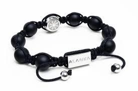 shamballa bracelet jewelry images Matte black double signature shamballa bracelet alanka jewelry jpg