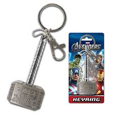 thor hammer pewter key chain monogram thor key chains at
