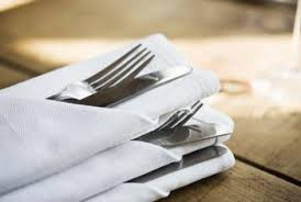 how to fold table napkins how to fold paper napkins with silverware home guides sf gate