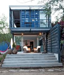shipping container house in el tiemblo porch tikspor